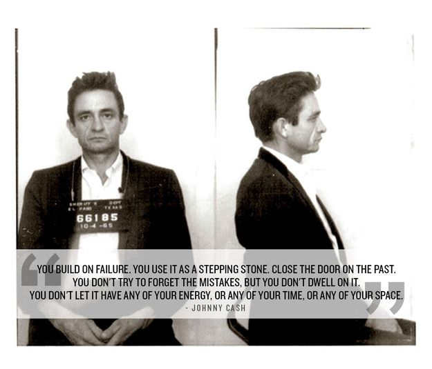 Forgive yourself. | 24 Life-Affirming Words Of Wisdom From Johnny Cash