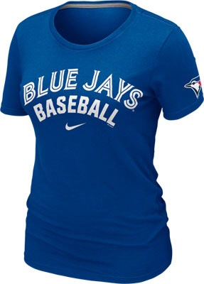 Toronto Blue Jays Women's Royal Practice T-Shirt (Nike)