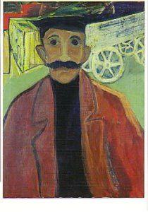 Hendrik Nicolaas Werkman -  'Voerman'-  A11127 - Postcard