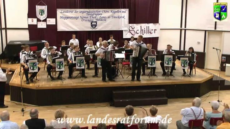 "Harmonikaauswahlorchester  "" Inselbaum oder Loamgruampolka""  2014"