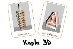 Des fiches pour les jeux de construction! Mobilo et blocs de bois entres autres.