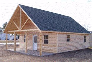 Log Cabin Kits & Prefab Wood/Steel Cabins for Sale in Oklahoma | Sturdi-Bilt Storage Barns Inc.