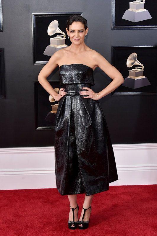 (Mike Coppola via Getty Images) Grammys 2018: Katie Holmes