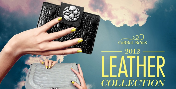 The latest leather collection by Carrol Boyes is in a league of its own. Characterised by detailed embossing and impeccable handcrafting, all items in this range are available in soft grey and black.