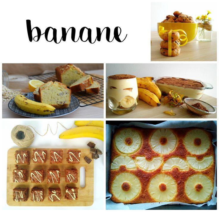 Kako porabiti zrele banane? S klikom na fotografijo si oglejte zbrane recepte za odlične bananine sladice. Njam!