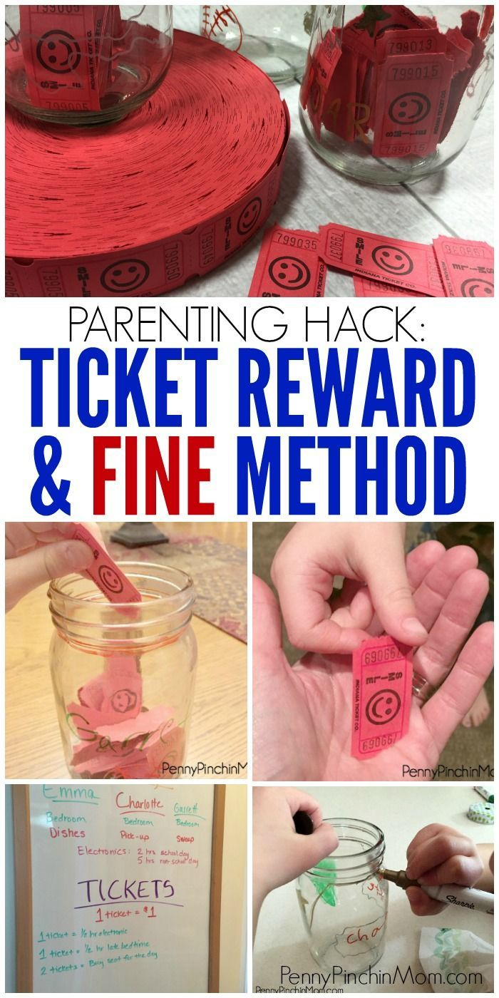 Parent Hack: Use the Ticket Reward & Fine Method t…