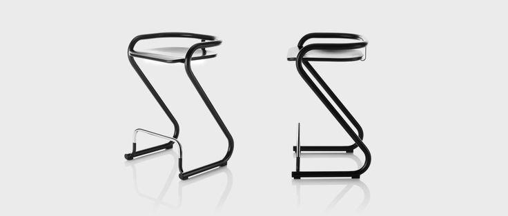 S70-3 barstool, designers Börge Lindau & Bo Lindekrantz | Lammhults