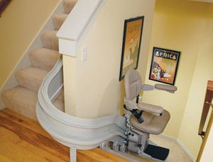 Check out the different curved stairlift models we offer at EHLS.