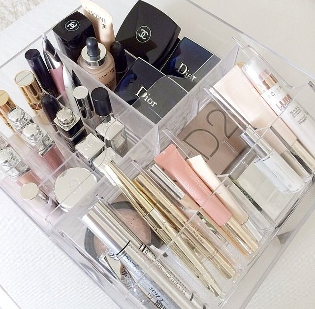 Rangement maquillage Ikea