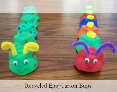 34 Best Trash To Treasure Egg Cartons Images On Pinterest