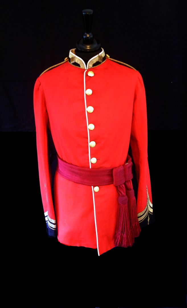Original Line officers 1872-81 tunic