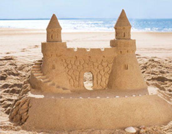 Ideas de castillos de arena. Verano con niños