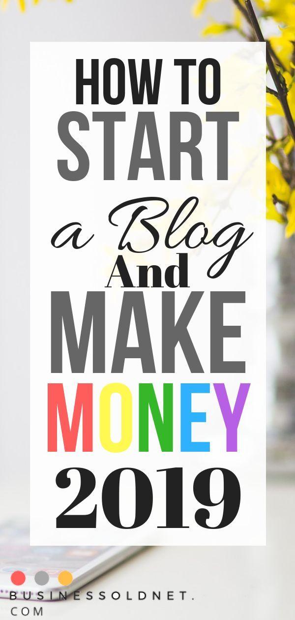 So starten Sie ein Blog und verdienen Geld mit dem Bloggen im Jahr 2019. So starten Sie ein Blog …   – Blogging Tips and Information