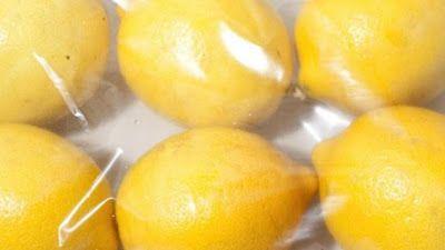 Cómo conservar los limones con más jugo por más tiempo.