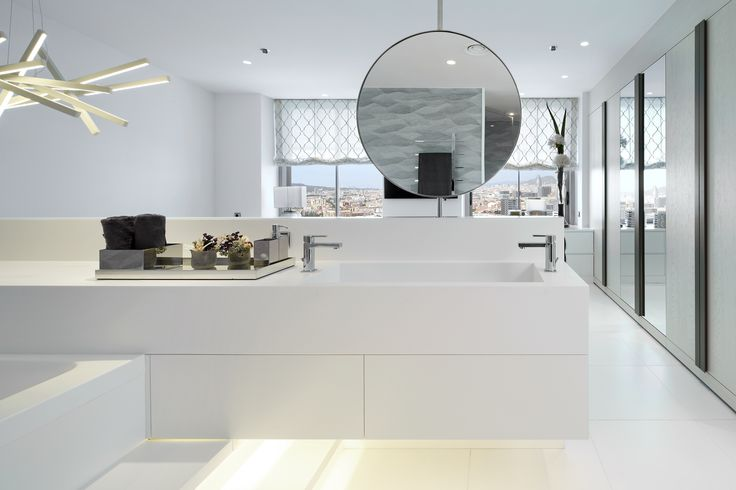 Molins Interiors // arquitectura interior - interiorismo - dormitorio - principal - suite - baño - espejo