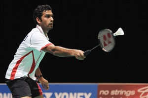 The Final of the Finnish Open Badminton takes place on Sunday with England's Rajiv Ouseph setting his sights on the title and a place at the Olympics in London.