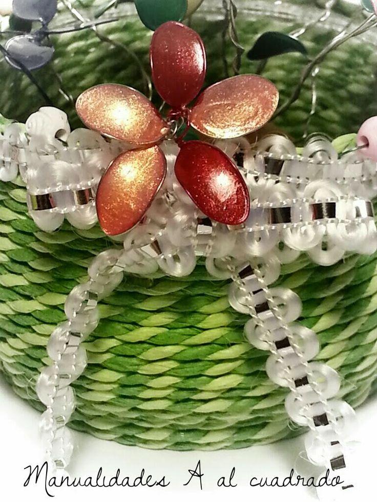 1000 images about flores con alambre y esmalte en - Plantas para hacer setos ...