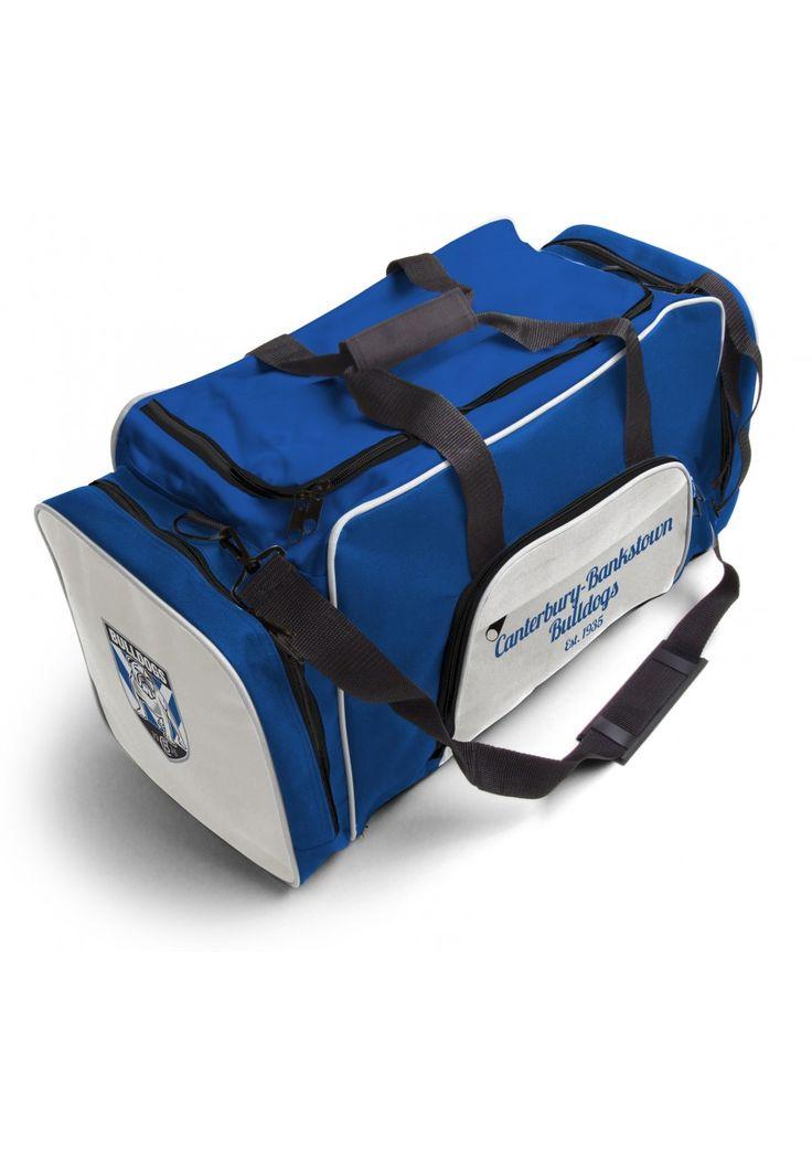 Canterbury Bulldogs NRL Team Logo Two Tone Sports Training Bag