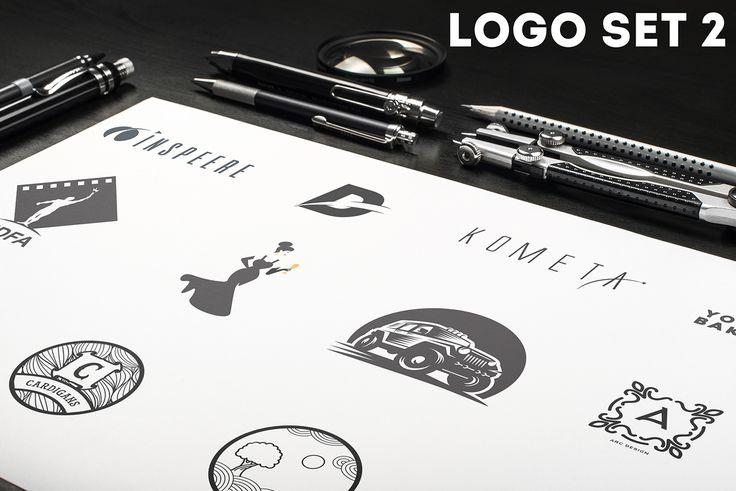 Ознакомьтесь с моим проектом @Behance: «LOGO SET 2» https://www.behance.net/gallery/54065781/LOGO-SET-2