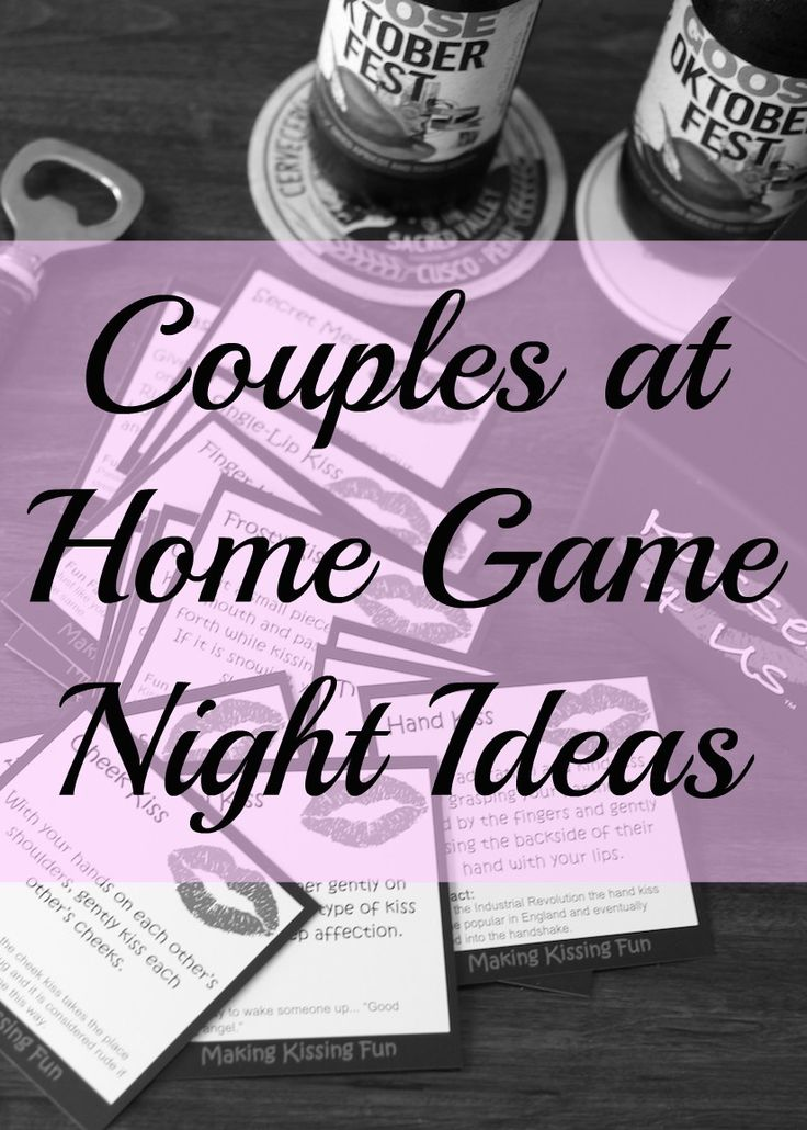 Best games nights for a couple #CaughtKissing