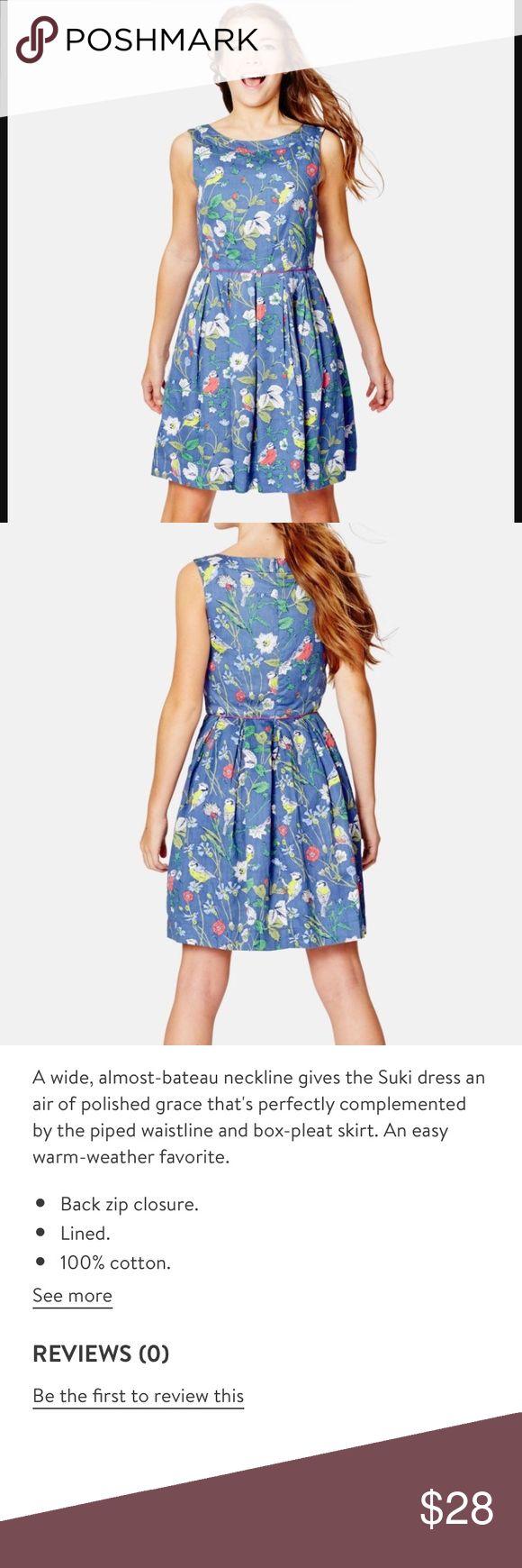 """Boden Johnnie B. Suki Sleeveless Dress size 11-12 Cute fit and a beautiful print💕 Boden Johnnie B. Suki sleeveless dress size 11-12 yr. In excellent condition ⭐️ Bust measures 30"""", waist 27"""", length 31"""". Boden Dresses"""