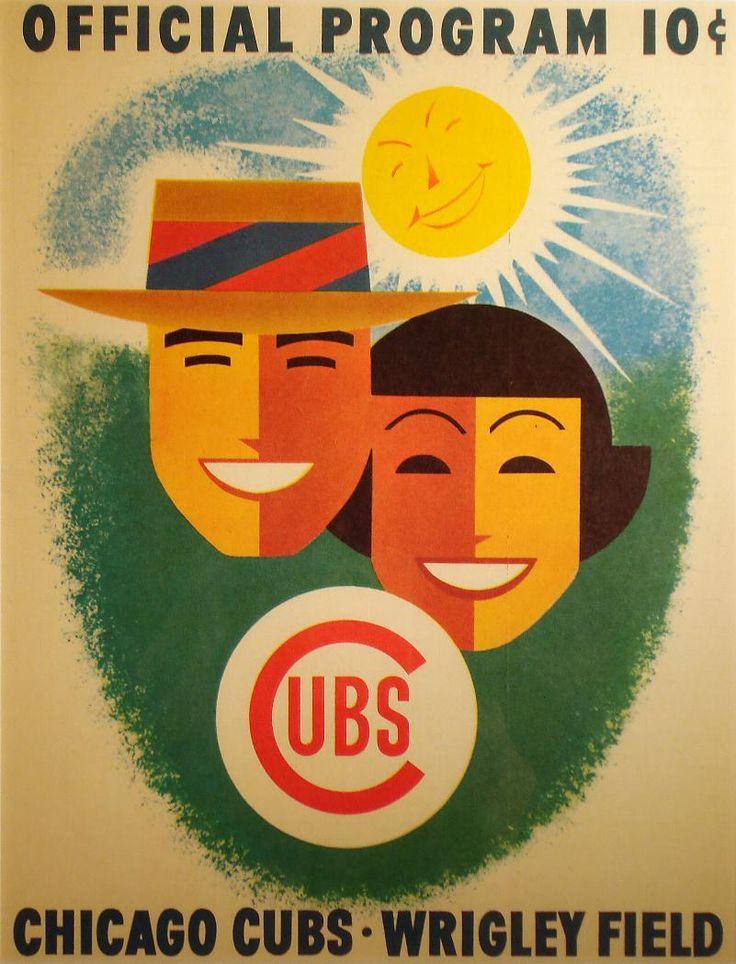 Cubs 1956 Scorecard