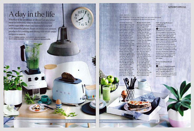 Riki Clock & Egg Cup | Gourmet Traveller, July 2015