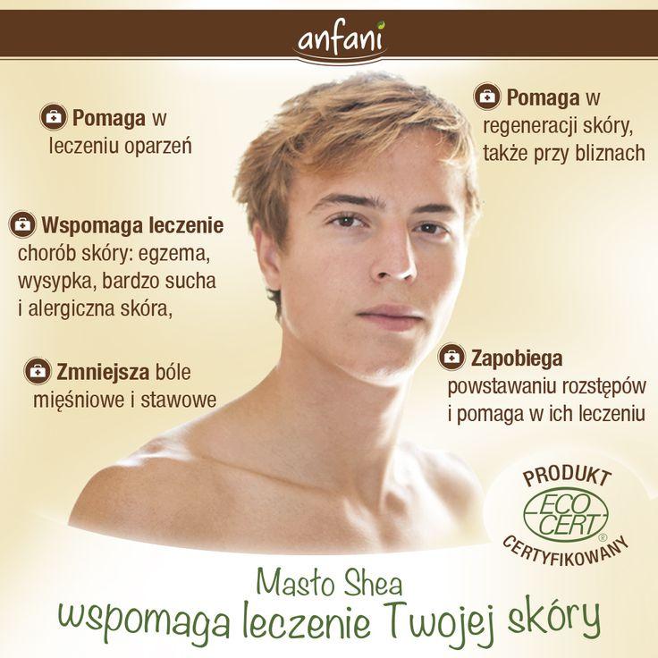 Masło Shea wspomaga leczenie Twojej skóry: masło Shea pomaga w leczeniu oparzeń, pomaga w regeneracji skóry, także przy bliznach, wspomaga leczenie chorób skóry: egzema, wysypka, bardzo sucha i alergiczna skóra, trądzik, łuszczyca, ukąszenia owadów, zapobiega powstawaniu rozstępów i pomaga w ich leczeniu, zmniejsza bóle mięśniowe i stawowe, masło shea na włosy - odbudowuje zniszczoną strukturę włosów, www.anfani.pl #maslo_shea #maslo_shea_nierafinowane #maslo_shea_na_twarz