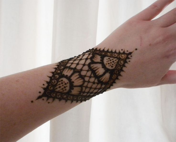Mehndi Lace Tattoo : Best henna images tattoos hennas and
