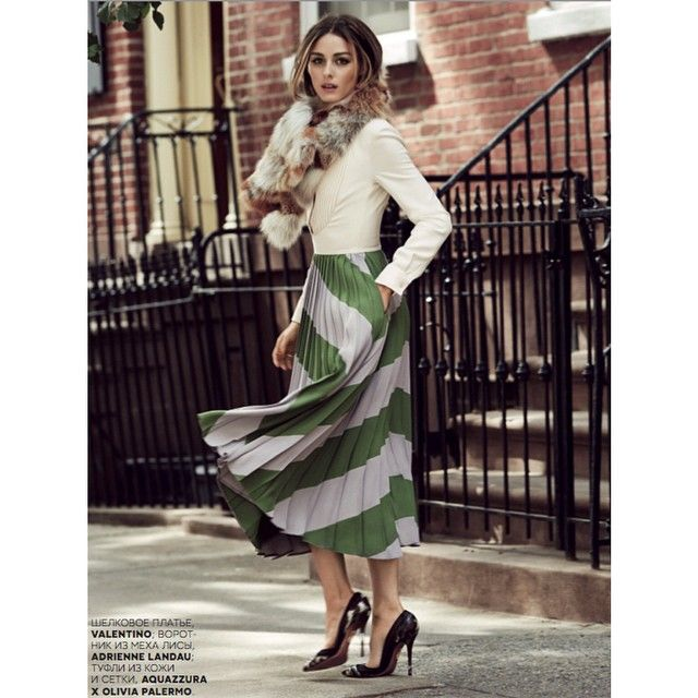 Olivia Palermo for Vogue Russia