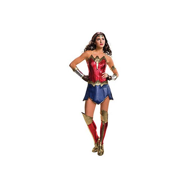 Adult Wonder Woman Costume Batman v Superman Dawn of Justice ❤ liked on Polyvore featuring costumes, white costume, white princess costume, wonder woman costume, adult superman halloween costume and adult costumes