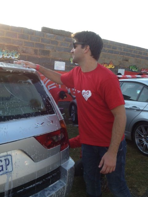 ClassyMenace wIth 5FM in Soweto 16 June 2013