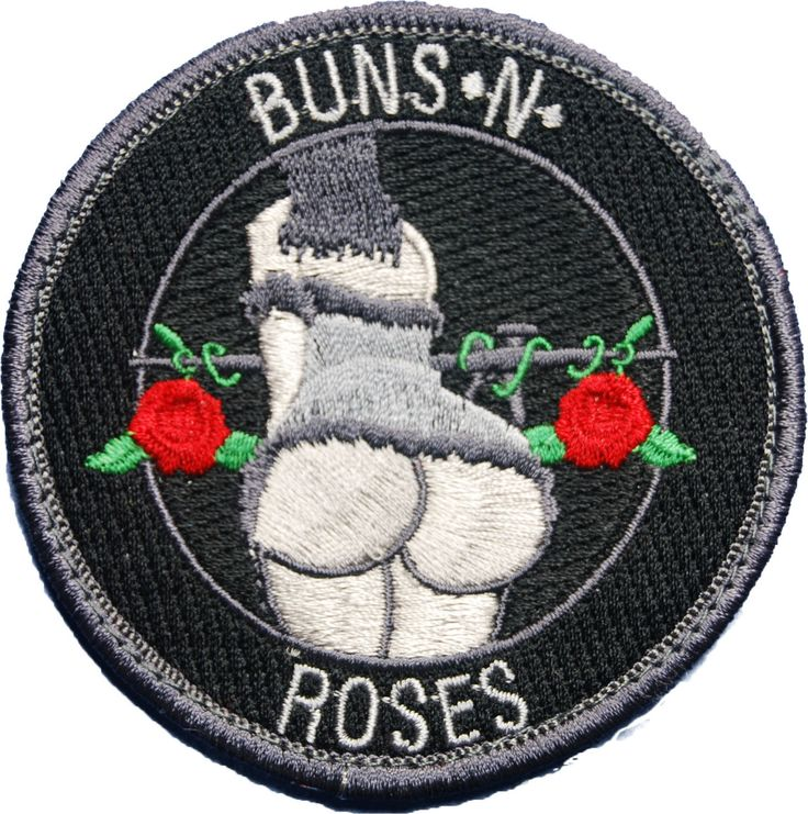 Buns and Roses Morale Patch | Shades of Gray Tactical Store