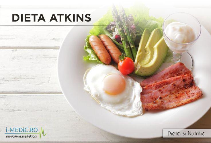 Mancaruri bogate in calorii precum friptura, oua, sunca sau omleta cu branza cheddar pot fi consumate in dieta Atkins, o dieta controversiala. http://www.i-medic.ro/diete/dieta-atkins