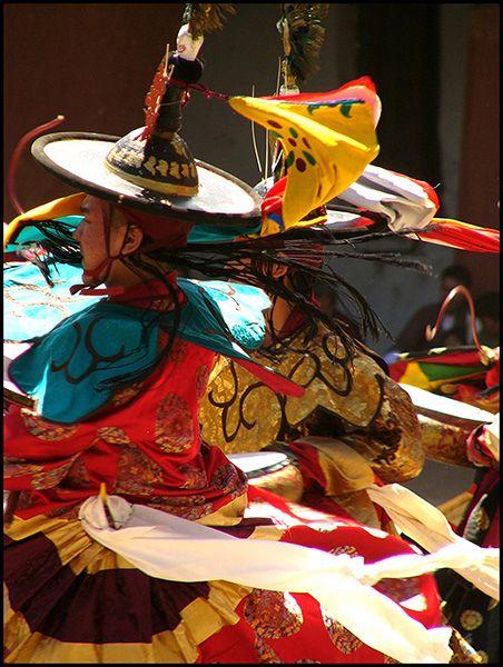 Bhutan Prayer Dance