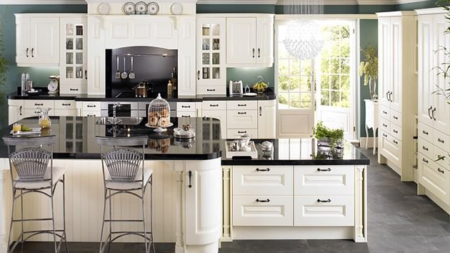 15 lovely and warm country styled kitchen ideas kitchens for Kitchen cabinets 10 x 15