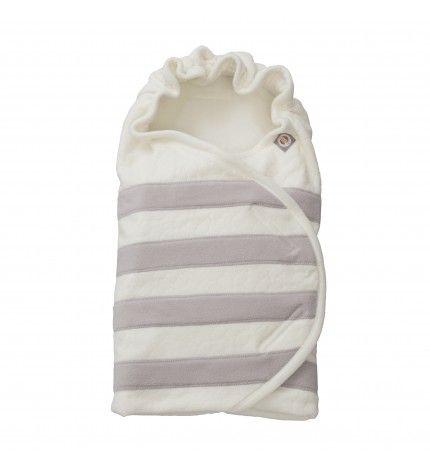 Rożek dla niemowląt Lodger Off White polar