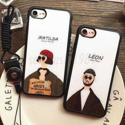 スマホケース・テックアクセサリー レオン マチルダ スマホケース iPhone7 7plus含む 全機種 対応♪