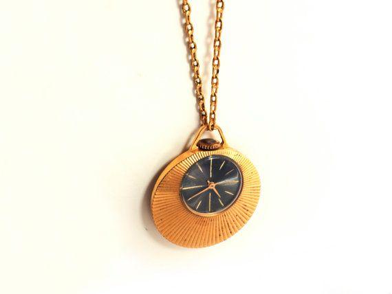 Soviet watch. Pendant watch necklace. Vintage Watch. by Watcheee