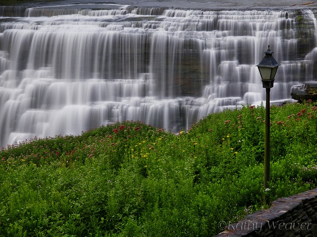 The middle falls at Letchworth State Park in NY.
