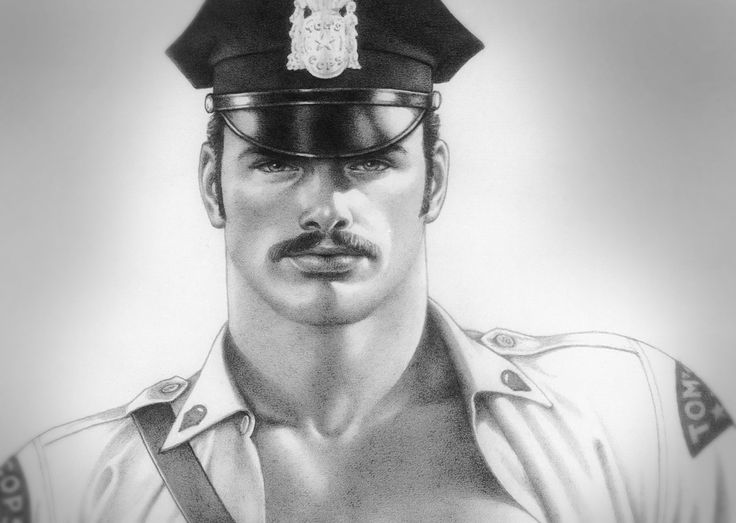 Hot Cop - Tom of Finland - detail