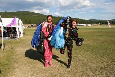 Your Skydiving Gear Bag: The Definitive Checklist: Footie pajamas? Might wanna pack those, too.