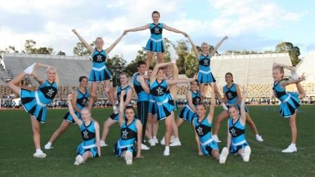 Easy Cheerleading Stunts for Beginners submited images | Pic2Fly