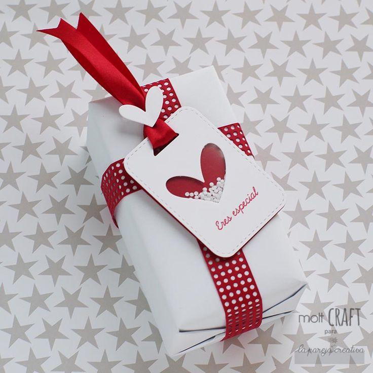 La Pareja Creativa + tag regalo