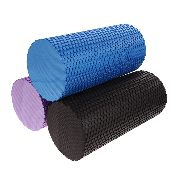3 Colors High Density Gym Exercise Yoga Blocks Gym Exercise Fitness Floating Point EVA Yoga Foam Roller…