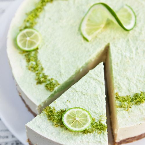 Raw Coconut Lime Cheesecake - Flannerys