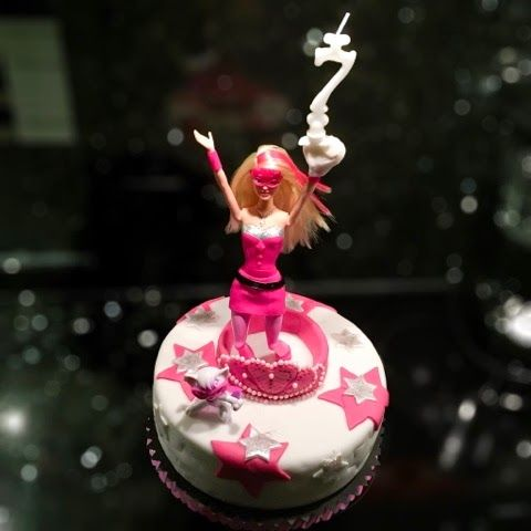 MossWing: Birthday Cake #Barbie #SuperPrincess