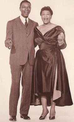 THE KING WITH HER MAJESTY ELLA… Nat King Cole and Ella Fitzgerald