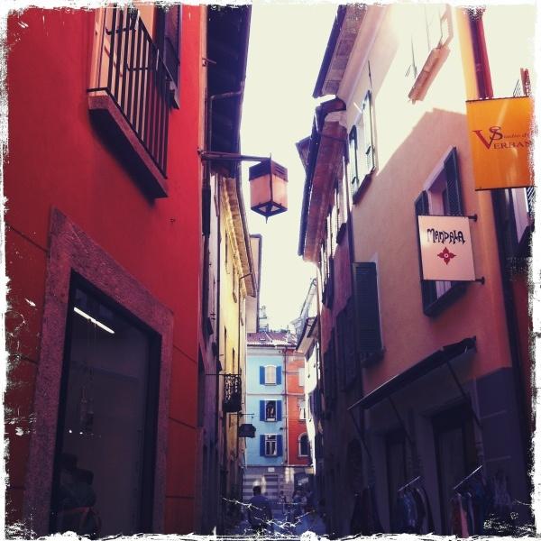 Locarno, Switzerland - alley way