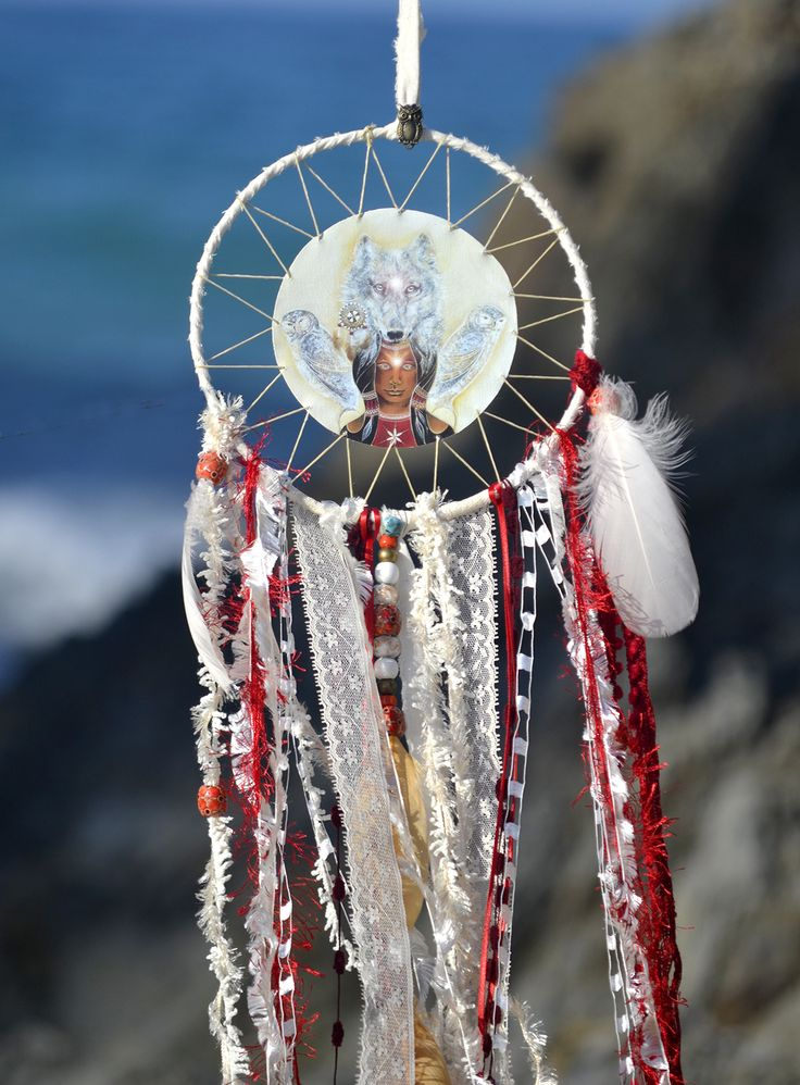 Dream Shaman, spirit Mandala, Dreamcatcher